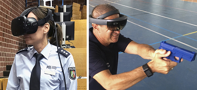 @TARGET_EU Using Virtual Reality to train Security Critical Agents
